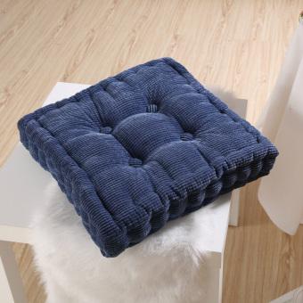 BolehDeals Niblet Mobil Desain Rumah Kantor Sofa Kursi NyamanBantal Bantalan Kursi Persegi Biru - 5