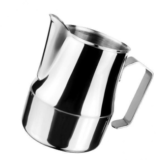 BolehDeals Stainless Steel Espresso Coffee Pitcher Craft Latte MilkFrothing Jug 350ml - intl