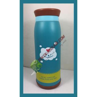 Botol Minum Termos Karakter Animal Stainless Steel 500 ml Awan