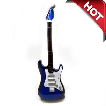 ... Alat Musik Pajangan Dekorasi Ruangan Rumah; Page - 3. Best Price Central Kerajinan Miniatur Gitar Elektrik Kayu Stand Holder Gnl Gtr001 Biru