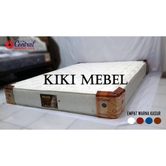 Central Spring Bed Deluxe Matras Putih 90x200 - Free Ongkir Jakarta
