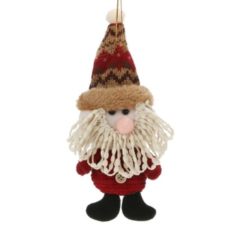 Christmas Decoration Artificial Reindeer Snowman Santa Claus Christmas Gift(Multicolor)-Santa Claus - intl
