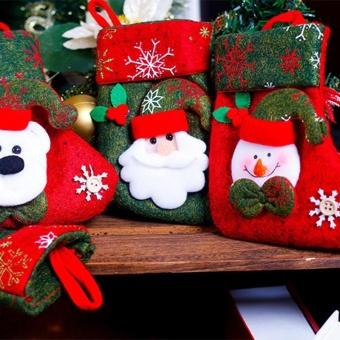Christmas Ornaments Hanging Christmas Socks - intl - 3