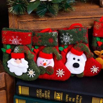 Christmas Ornaments Hanging Christmas Socks - intl - 5