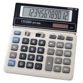 Citizen Calculator SDC868L Putih