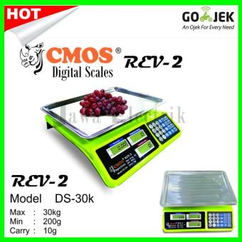 Cmos Timbangan Digital / Laundry / Sembako CMOS kapasitas 30kg