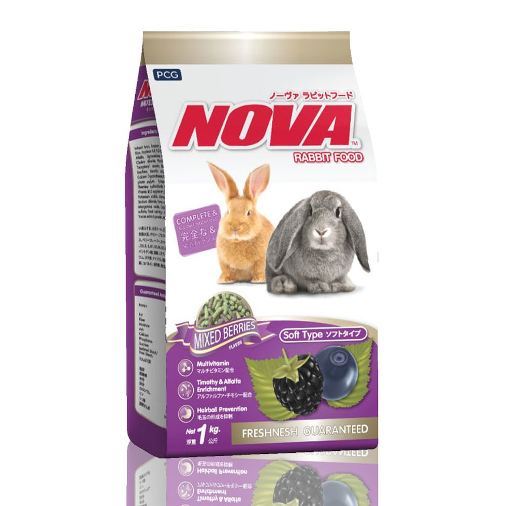 CP Petfood Nova Mix Berries Rabbit Food - 1kg