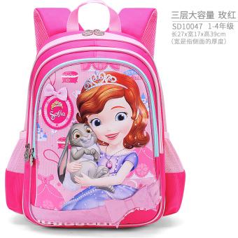 Disney Imut Siswi Pelindung Tulang Punggung Anak-anak Tas Bahu Tas