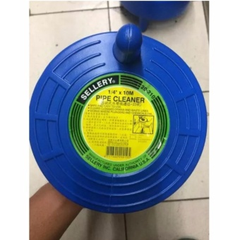 Drain Cleaner Pipe Cleaner Alat Pembersih Saluran Pipa Mampet10meter Pipe Cleaner Sellery - Biru