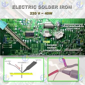 Eelic Sor 100w Goldstar Solder Profesional Daftar Harga Terlengkap Source EELIC SOR 40W BIRU SOLDER