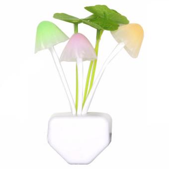 Eigia Lampu Tidur Jamur Avatar Mini Lampu Hias LED Lamp Otomatis Menyala Penerangan Pencahayaan Hemat Energi