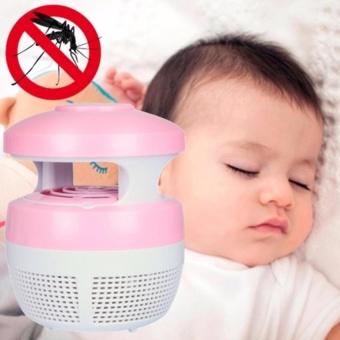 Elektronik Perangkap Nyamuk Anti Nyamuk Lampu LED Nyamuk KillerLamp Pengendalian Hama (Pink) & Nbsp