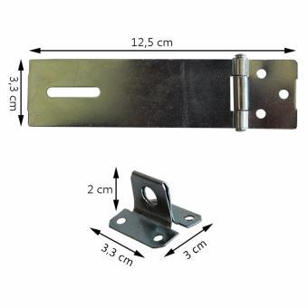 Detail Gambar ELLIC KEG-OPEI Kunci Engsel Gembok Cocok Dipasang Di Pintu Laci DanPagar Terbaru
