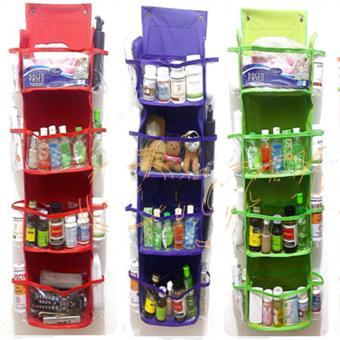 ... Emwe RMO rak multifungsi serba guna organizer rack multifunction organizer hanging Rak Gantung Kosmetik / Obat