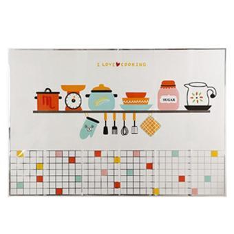 ... Fitur Anti Oil Kitchen Wall Stickers Stiker Dinding Anti Minyak Dan