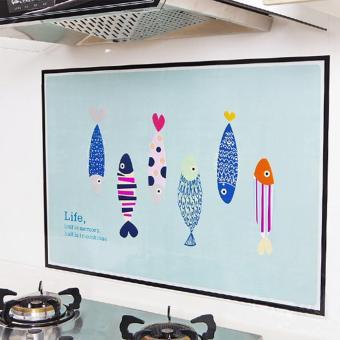 ... air anti noda minyak lecythus Dekorasi Wall Sticker stiker keramik dapur 3186889