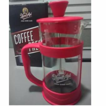 French Press, Plunger, Coffee Press - Merah