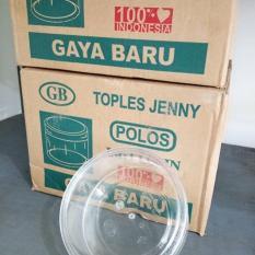 Gaya Baru TOP 202 Toples Jenny Kue Kering Nastar Plastik Mika 500 gram