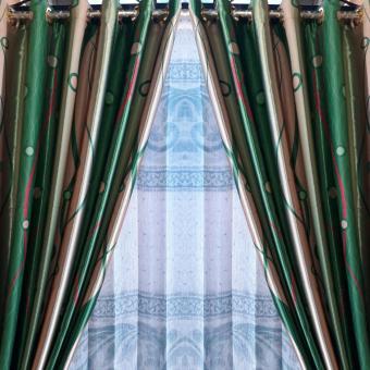 Gorden murah kepalang basah ke-2 hijau hordeng korden gordyn pibtu jendela  ruangan 71fc21d93e