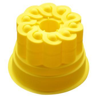 Griya Cetakan Kue Puding Jelly MEDIUM CROWN Silicone Warna random