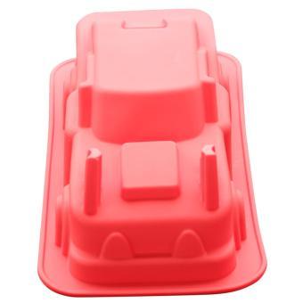 Griya Cetakan Puding / Kue BIG CAR - Red