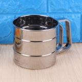 ... Handheld Tepung Shaker Stainless Steel Mesh Saringan Cup Icing Sugar Bake Tool-Intl - 3 ...