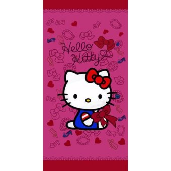 Handuk Rosanna Printing Panel 72x145 Kitty · >>>>