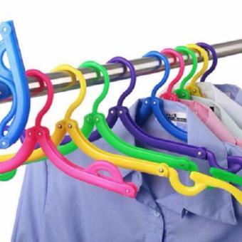Hanger Lipat Portable Gantungan Jemuran Baju Travel Foldable - 3