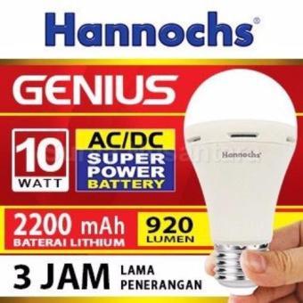Hannochs Lampu LED Emergency Genius/ Touch Lamp 10 Watt - 2