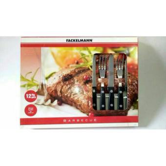 Harga Promo Set Pisau Steak & Garpu 12 Pcs Fackelmann + Hadiah - 3