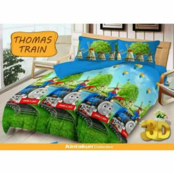 HG Kintakun Dluxe Sprei King Motif Thomas Train 180x200 cm