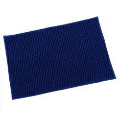 Keset Cendol Dof Biru 40 x 60 cm / karpet bulu / doormat chenille blue .