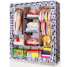 ... Lemari Kain Oxford Pink Tua Polkadot 105 Nt1 Online Babybee Seprei Linen X 70. Source · Harga Shenar Wardrobe Multifunction 3 Sisi Motif Pink Mawar Nt7 ...