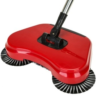 Household Must Spin Hand Push Broom Household Floor Dust Cleaning Sweeper Mop No Electricity - intl