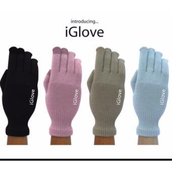 Detail Gambar iGlove Sepasang Sarung Tangan Khusus bisa untuk Touch ScreenSmartphone iPhone Android dan Variasi Modelnya