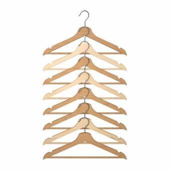 IKEA Bumerang Gantungan Baju /Hanger Kayu, Gantungan Baju,Hanger wood - 8 buah