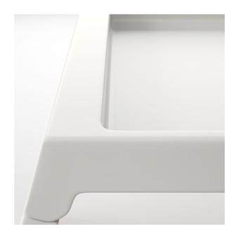 Ikea Klipsk Baki Lipat Meja Tempat Tidur - Putih - 4