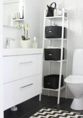 IKEA LERBERG- Unit Rak Bertingkat Yang Serbaguna-Uk 35X35x148cm-Putih