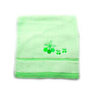 Alldaysmart Handuk Mandi Kecil 1609-418 - Hijau - ukuran 72x33