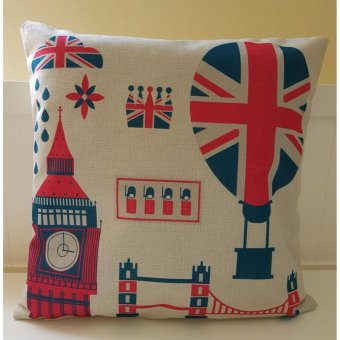 Harga VINTATGE STORY COVER SOFA PILLOW 45x45- BIG BEN
