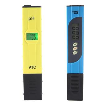 Harga Leegoal Digital PH Meter TDS PH Tester High Accuracy With Backlit LCD Display For Water Quality PH Testing, Yellow+Blue - intl