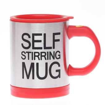 Harga DFW-Self StirringMug-Merah
