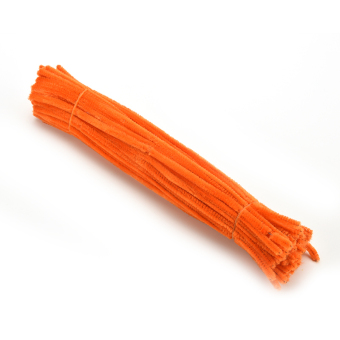 Buytra Chenille Stems Pipe Cleaners DIY Orange