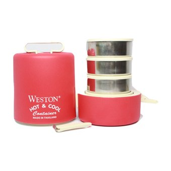Harga Weston Hot & Cool 4 Stacks 13.5 cm - Merah
