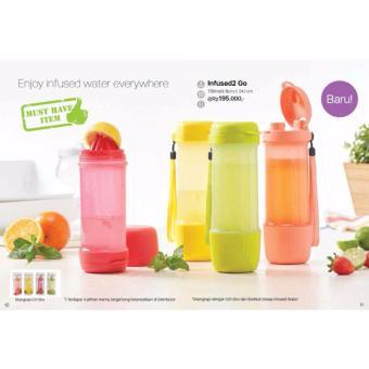 Harga Tupperware Shaker Merah 1pcs Dan Spesifikasinya Cek Harga Source · infused2 go bottle