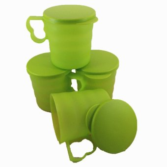 Harga Tupperware Tupperware Blossom Mugs - 4 pcs Limited Edition