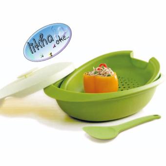 Harga Tupperware Blossom Oval Server