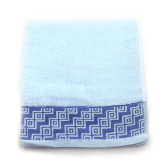 Alldaysmart Handuk Mandi Kecil 1609-419 - Biru - ukuran 71x34