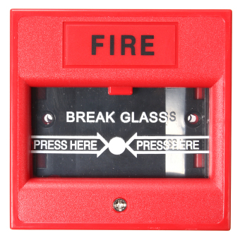 Harga Emergency Door Release Glass Break Fire Alarm Button For Access Control System