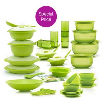 Harga Tupperware Promo Mega Serving Set